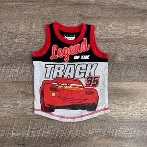 Disney Cars Boys Tank Top Sz 2T
